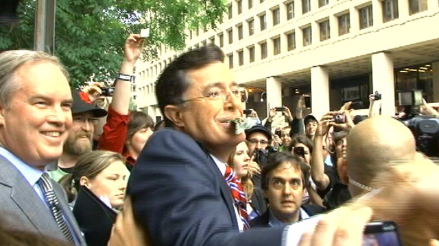 VIDEO: Stephen Colbert Addresses the 'Colbert Nation'
