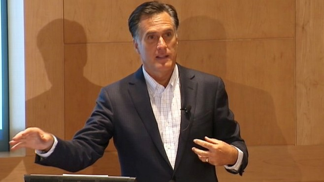 VIDEO: Mitt Romney: Obama Health Care Was a 'Power Grab'