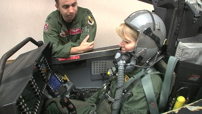 VIDEO: How Do You Eject From A Plane?