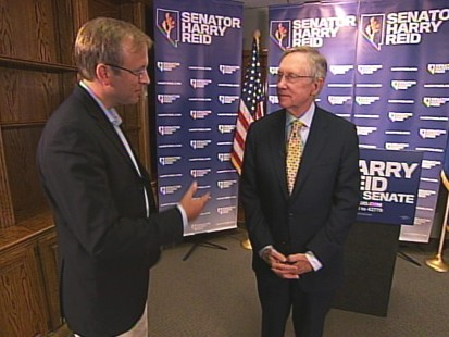 VIDEO of Jonathan Karl interviewing Senator Harry Reid about the race of his political life