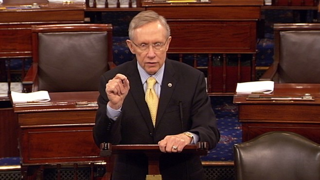 VIDEO: Harry Reid: 'I Am Not Nearly As Optomistic'