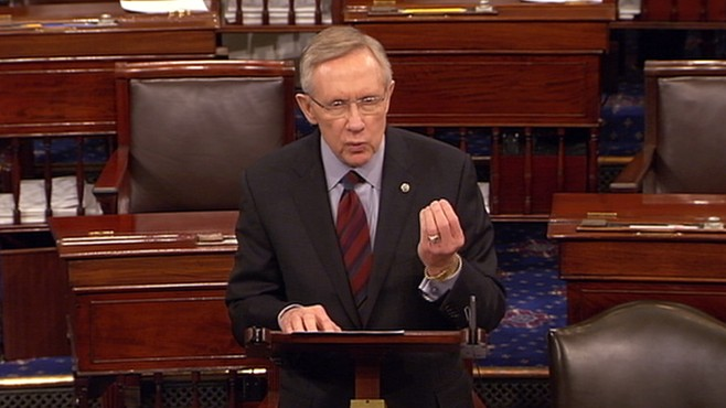 VIDEO: Reid: Republicans Want Government Shutdown