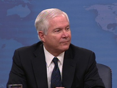 Video of Defense Secretary Robert Gates on dont ask dont tell.
