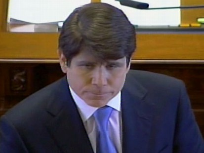 Video of Illinois Governor Rod Blagojevich making closing remarks on the Senate floor.