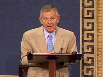 GOP Sen. George Voinovich says hell vote in favor of Sonia Sotomayor.