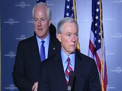 Video: Senators Sessions and Cornyn remarks on Elena Kagan.