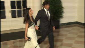 ABC News video of guests arriving at Obama State Dinner.