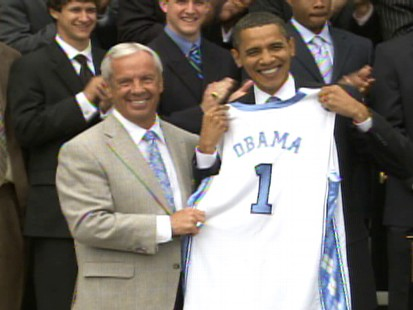 Video of Obama Thanking Tar Heels for Vindicating Him