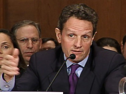 Video of Treasury Secretary nominee Tim Geithner