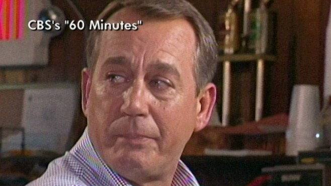 VIDEO: John Boehner Tears Up During Interview