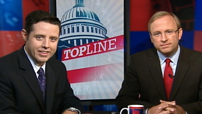 "Video: Jonathan Karl and Rick Klein talk the lastest in politics on ""Top Line."""