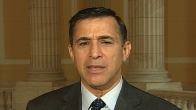 "Video: Rep. Darrell Issa R-CA., on ""Top Line."""