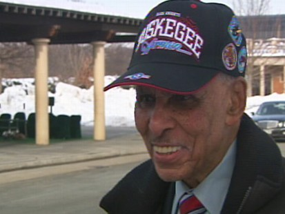 Video of At Tuskegee airman Lee Archer?s funeral at Arlington Cemetery.