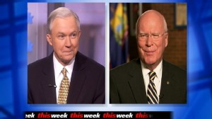 Video of Senator Jeff Sessions and Senator Patrick Leahy on This Week