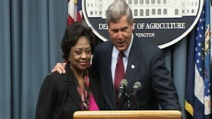 Video: Sec. Vilsack and Shirley Sherrod hold press conference.