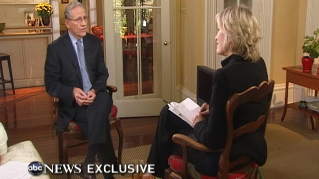 "Video: Exclusive: Diane Sawyer Interviews Bob Woodward about new book ""Obama's War."""
