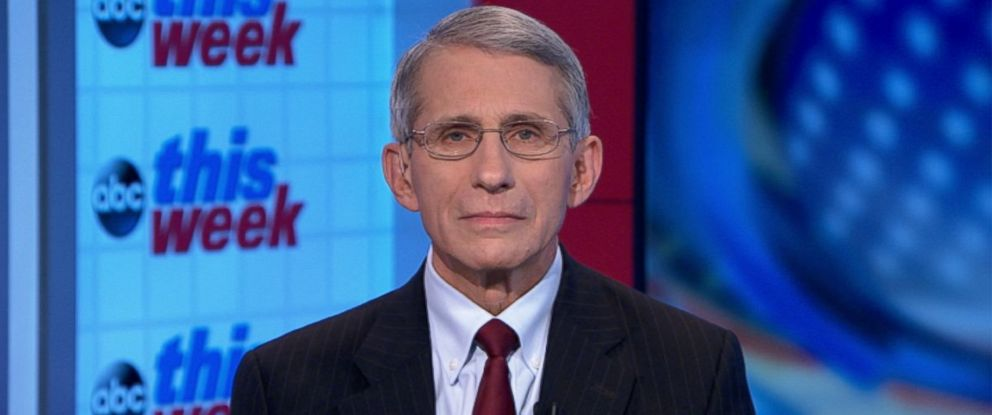 PHOTO: National Institute of Allergy and Infectious Diseases Director Dr. Anthony Fauci on This Week