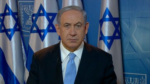 ABC benjamin netanyahu jt 140720 16x9 608 Benjamin Netanyahu: Hamas Committing Double War Crime; Rails Against Mad Islamists