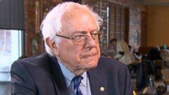 """PHOTO: Sen. Bernie Sanders on """"This Week"""""""