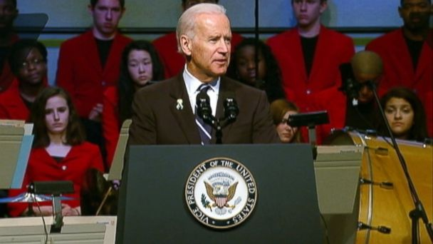Vice President Biden Applauds Boston's Courage