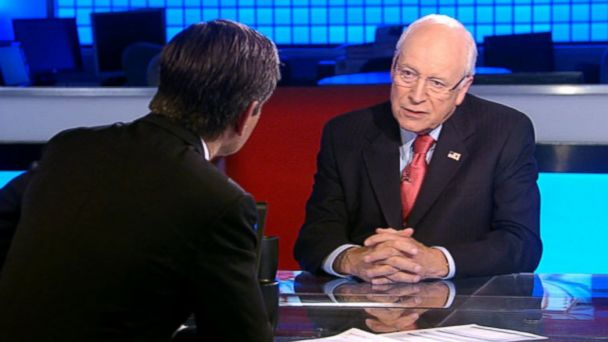 ABC cheney stephanopoulos lpl 131027 16x9 608 Dick Cheney Slams Sen. Mike Enzi on Fundraising, Says They Arent Fishing Buddies