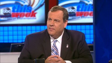"PHOTO: Gov. Chris Christie, R-New Jersey, on ABCs ""This Week with George Stephanopoulos."""