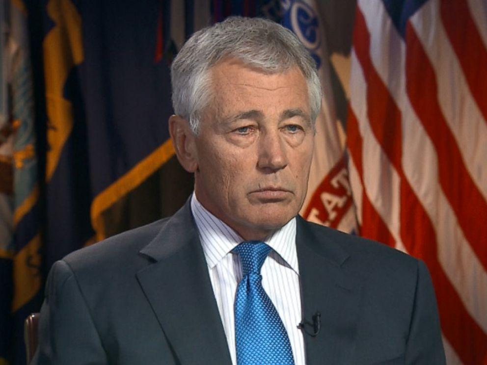 PHOTO: Secretary of Defense Chuck Hagel on This Week
