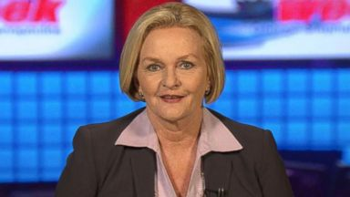 PHOTO: Sen. Claire McCaskill interviewed on This Week