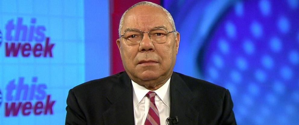 PHOTO: Former Secretary of State Colin Powell on This Week