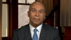 PHOTO: Governor Deval Patrick (D) Massachusetts on This Week
