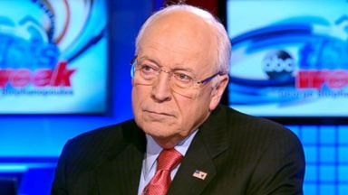 "PHOTO: Former Vice President and Co-Author, ""Heart: An American Medical Odyssey"" Dick Cheney on This Week."