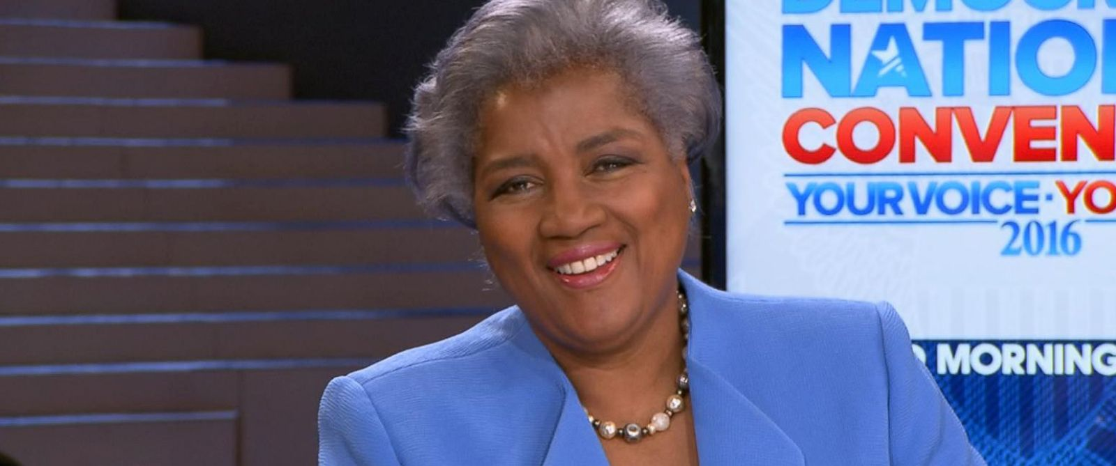 PHOTO: Donna Brazile weighs in on the DNC email leak and how she plans to lead the Democratic Party forward in her new role.