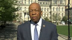 PHOTO: Rep Elijah Cummings (D) Maryland on This Week
