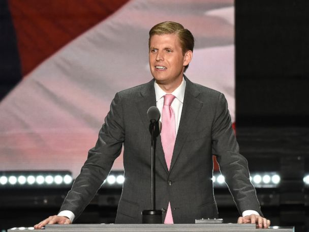 Eric Trump on Father's Threat to Sue Accusers: 'My Father's a Fighter'