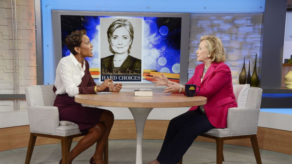 PHOTO: Hillary Clinton sat down for an exclusiv