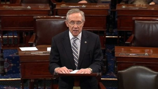 ABC harry reid nt 131016 16x9 608 Harry Reid Likens Senate Republicans to a Greased Pig