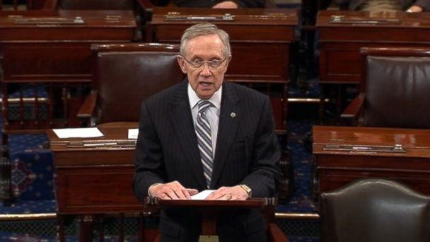 ABC harry reid nt 131016 16x9 608 Harry Reid Likens Senate Republicans to a Greased Pig