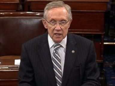 Harry Reid Likens Senate Republicans to a 'Greased Pig'