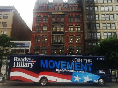 Inside the Campaign-Style Ready for Hillary Bus