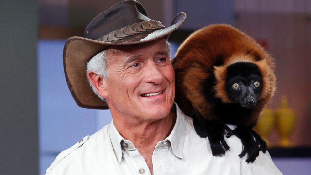 PHOTO: Jack Hanna makes an appearance on Good Morning America, March 20, 2014.
