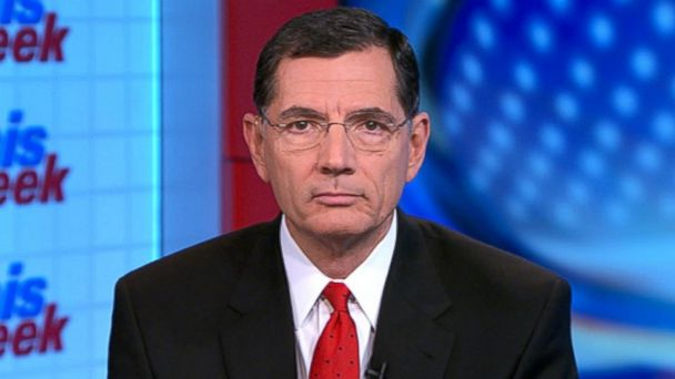 ABC john barrasso lpl 131027 16x9 608 Sen. John Barrasso: HHS Secretary Kathleen Sebelius The Laughing Stock of America