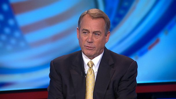 ABC john boehner this week jt 131006 16x9 608 Boehner Releases 1st Campaign Commercial Since 2010
