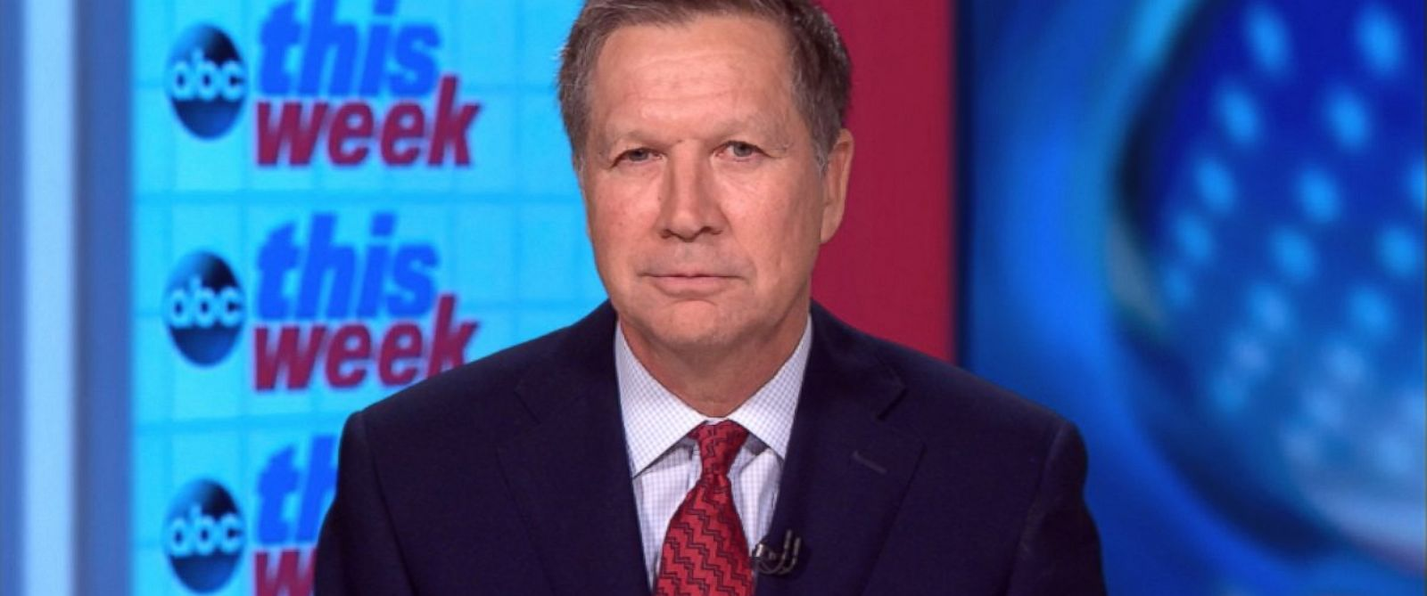 PHOTO: Ohio Governor John Kasich on This Week