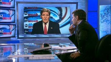 PHOTO: Secretary of State John Kerry on This Week