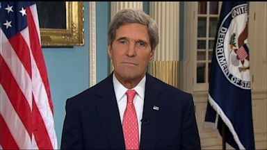 PHOTO: U.S. Secretary of State John Kerry on This Week