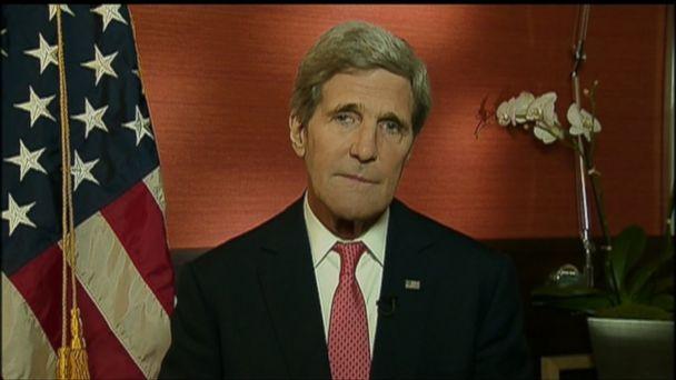 ABC john kerry this week jt 131124 16x9 608 Sec. John Kerry: No Daylight Between Israel, U.S. on Goal for Iran Nuclear Program