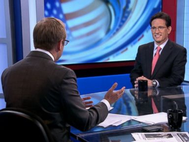 Rep. Eric Cantor 'Absolutely' Shocked by Primary Loss