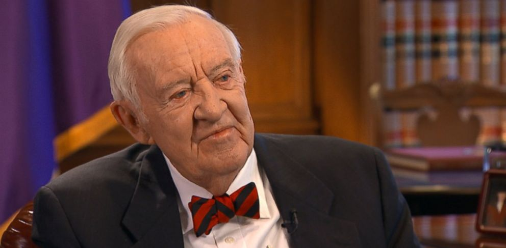 PHOTO: Justice Stevens appears on This Week