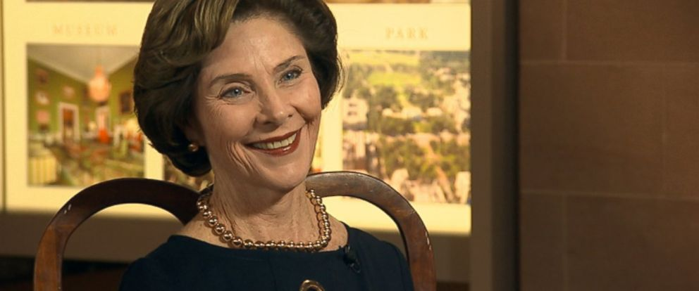 PHOTO: Former First Lady Laura Bush on This Week