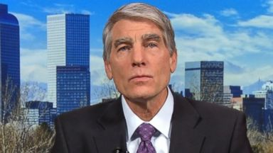 PHOTO: Senate Intelligence Committee member Senator Mark Udall (D) Colorado on This Week